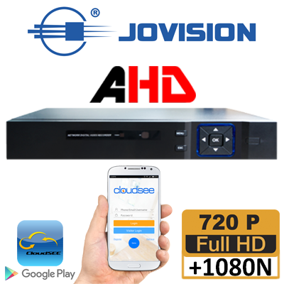 DVR 4CH AHD RESOLUCION 1080N TRIBRIDO (ANALOGO + AHD+IP/ 1 SATA / SALIDA HDMI -VGA / 4 AUDIOS / P2P