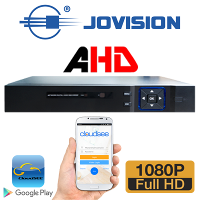 DVR 8CH AHD RESOLUCION 1080P TRIBRIDO (ANALOGO + AHD+IP/ 1 SATA / SALIDA HDMI -VGA / 4 AUDIOS / P2P